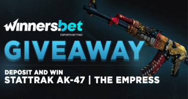 CSGO Skins Giveaway at Winners.bet